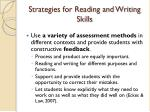 strategies for reading and writing skills1