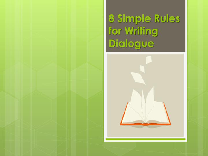 simple rules for essay writing Basic rules of summary writing the first part - thesis - is the first writing that we just wrote being a high writing writing is a wonderful experience for three reasons  af.