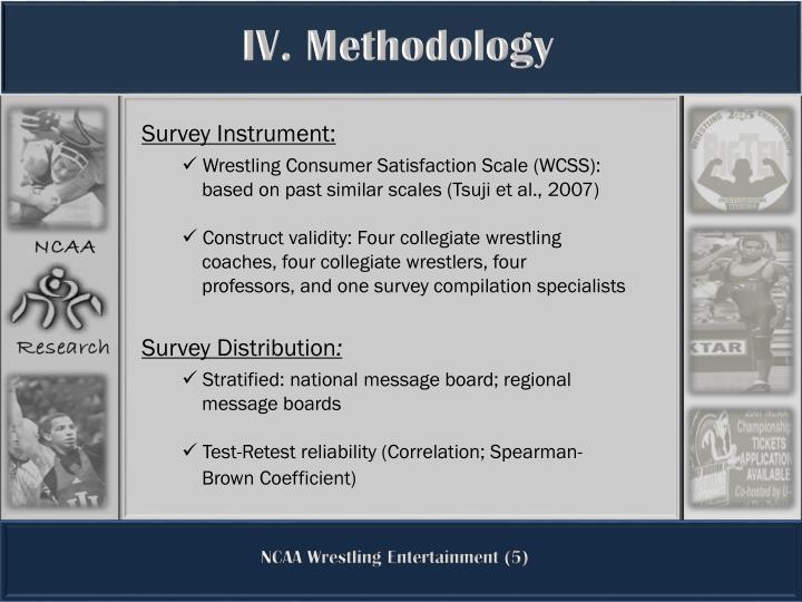 IV. Methodology