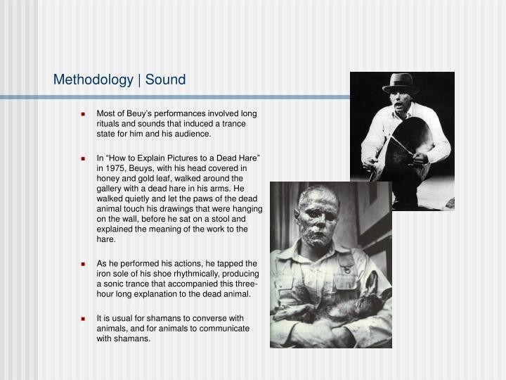 Methodology | Sound