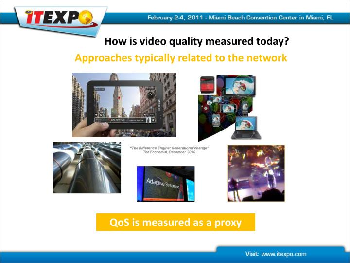 How is video quality measured today?