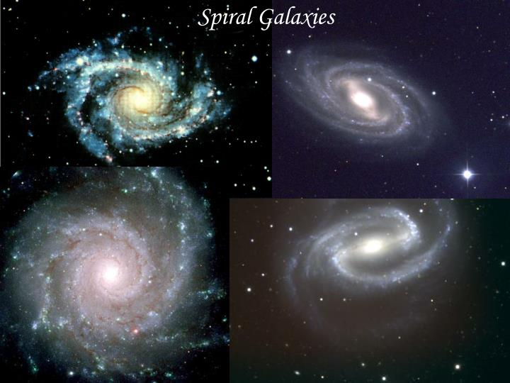 types of two spiral galaxies - photo #14