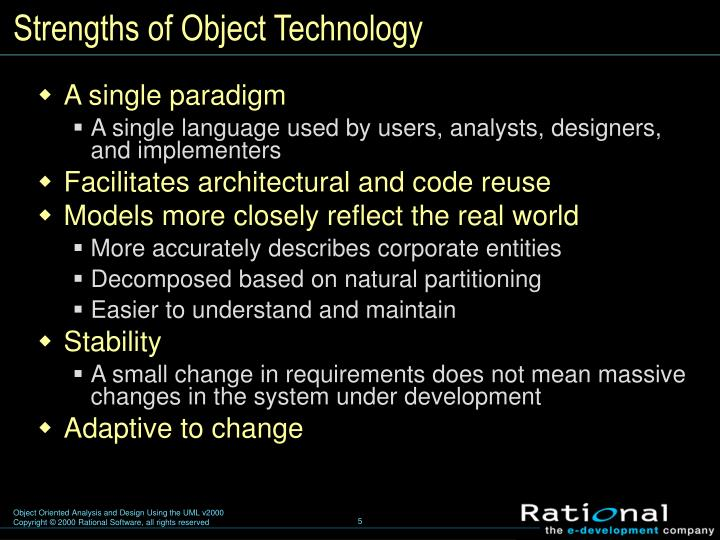 Strengths of Object Technology
