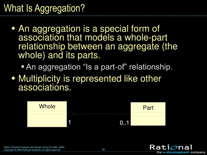 What Is Aggregation?