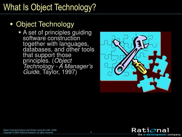 What Is Object Technology?