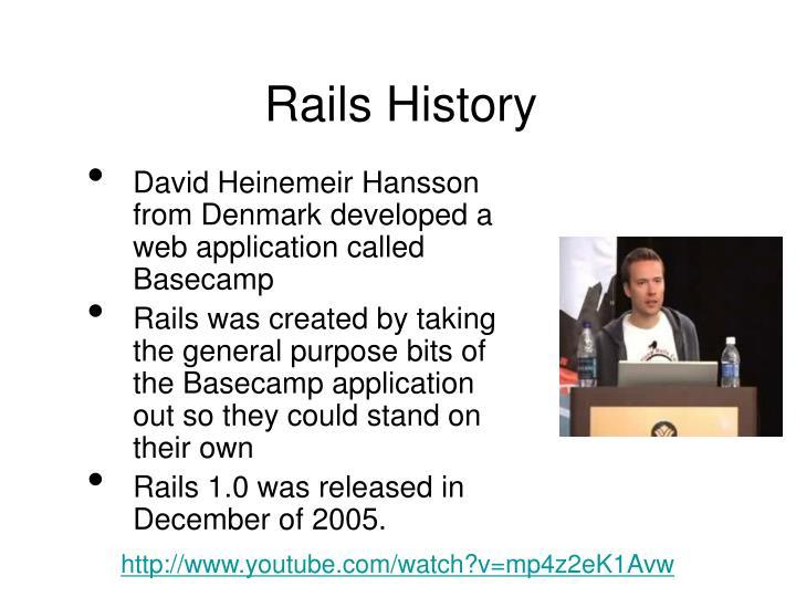 Rails History