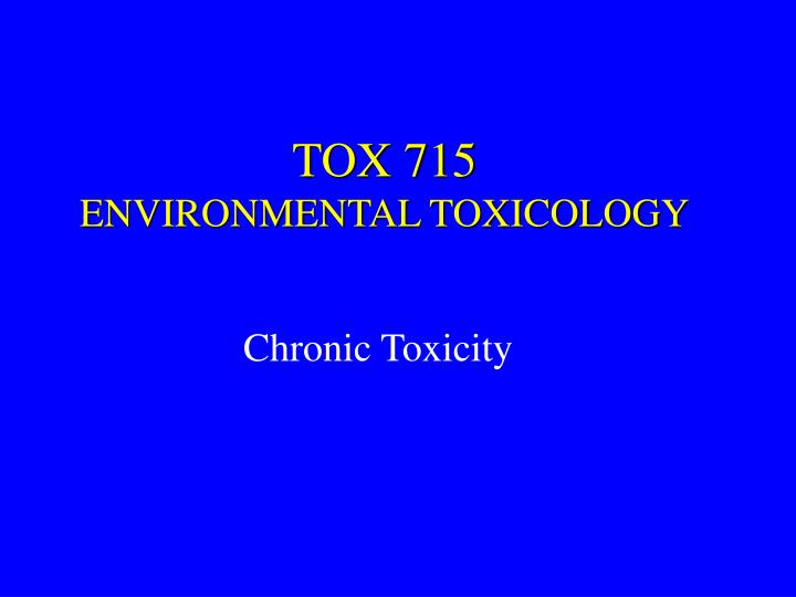TOX 715