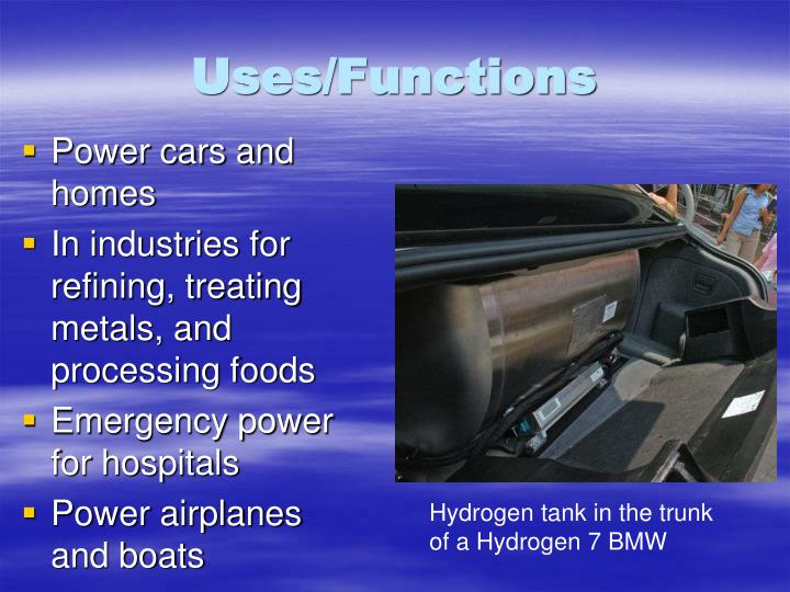 Uses/Functions