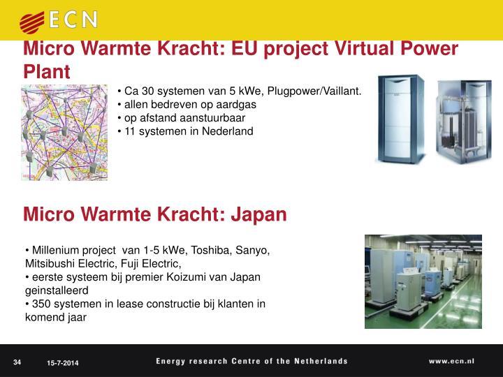 Micro Warmte Kracht: Japan
