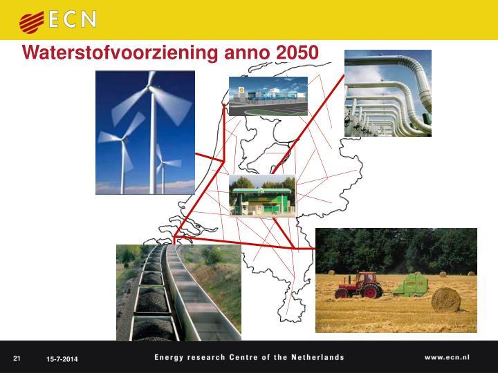 Waterstofvoorziening anno 2050