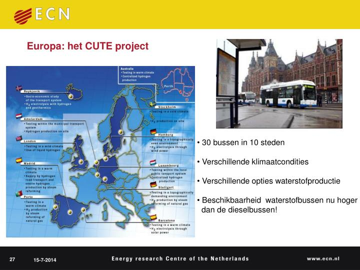 Europa: het CUTE project