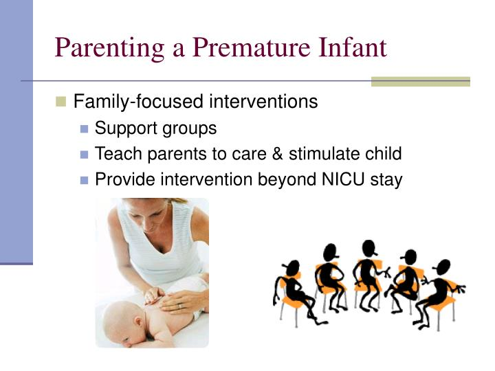 Parenting a Premature Infant