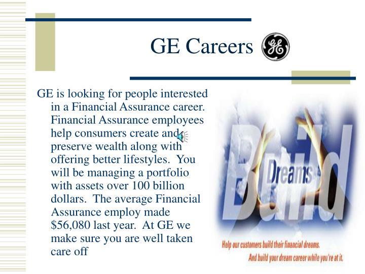 GE Careers