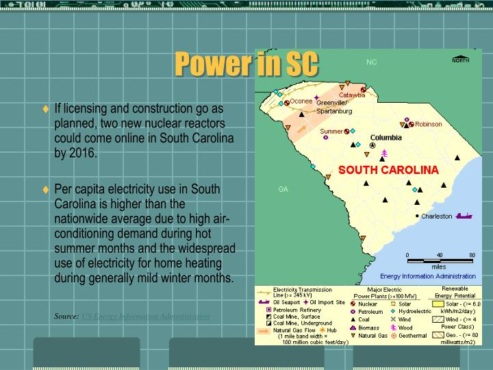 Power in SC