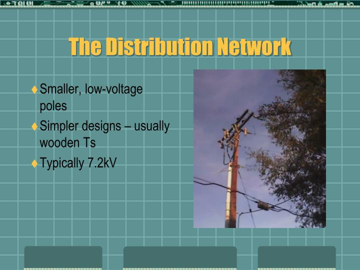 Smaller, low-voltage poles
