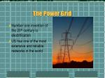 the power grid1