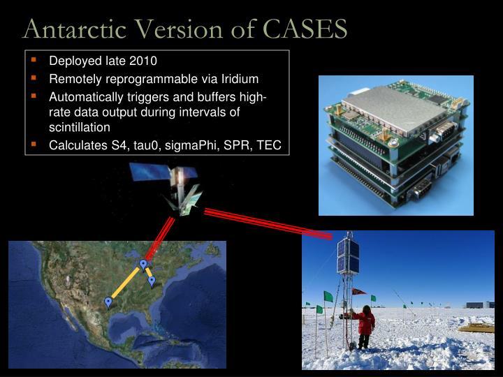 Antarctic Version of CASES