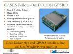 cases follow on foton gpsro