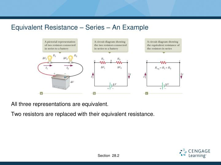 Equivalent Resistance – Series – An Example