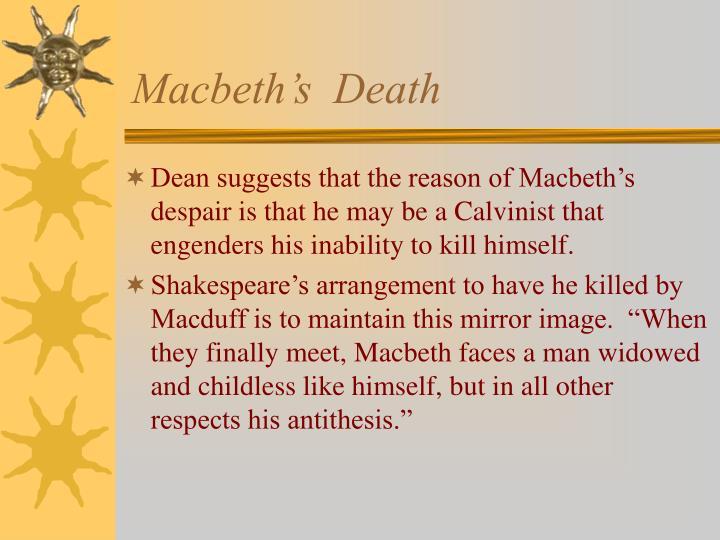 Macbeth's  Death