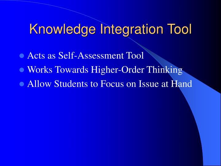 Knowledge Integration Tool