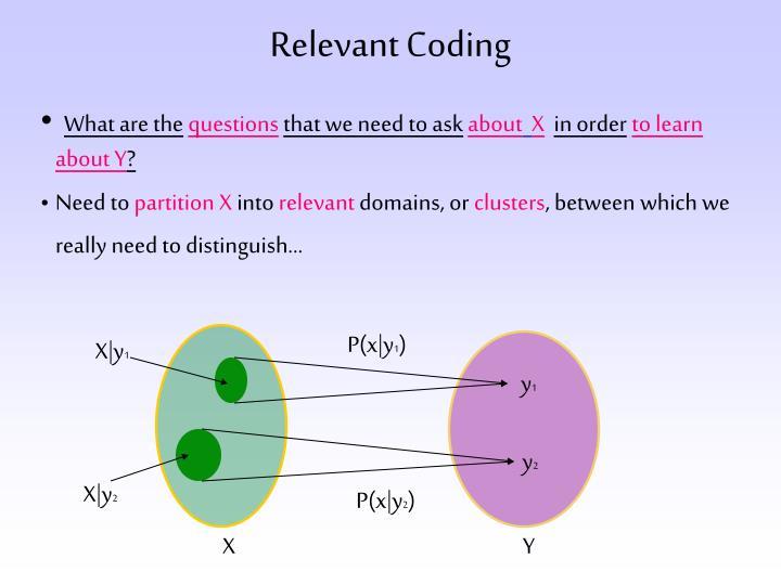 Relevant Coding