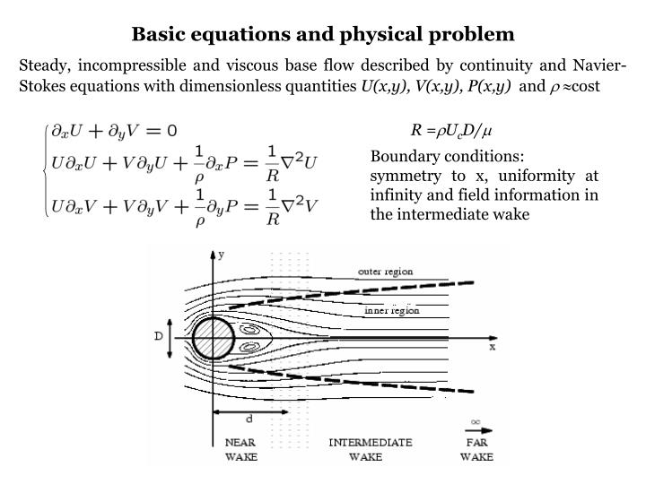 Basic equations and physical problem