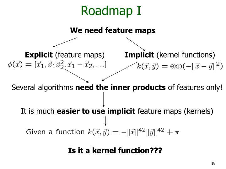 Roadmap I
