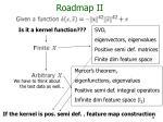 roadmap ii