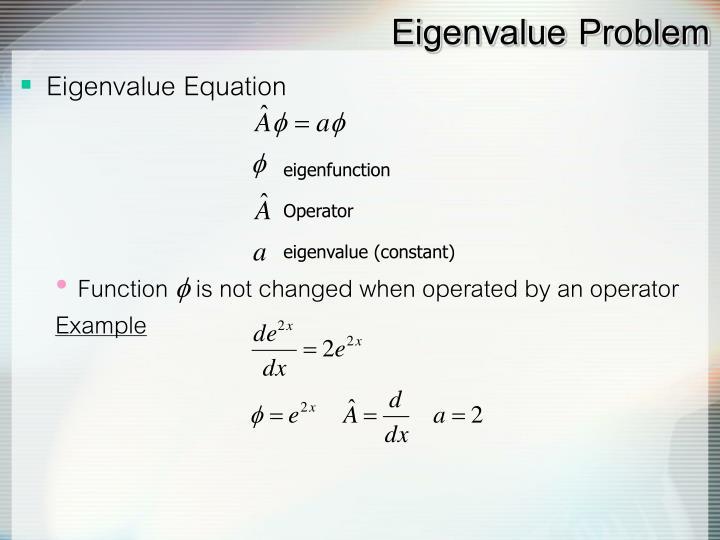 eigenfunction