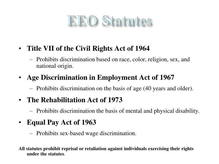 EEO Statutes