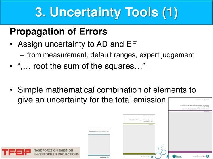 3. Uncertainty Tools (1)
