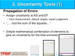 3 uncertainty tools 1