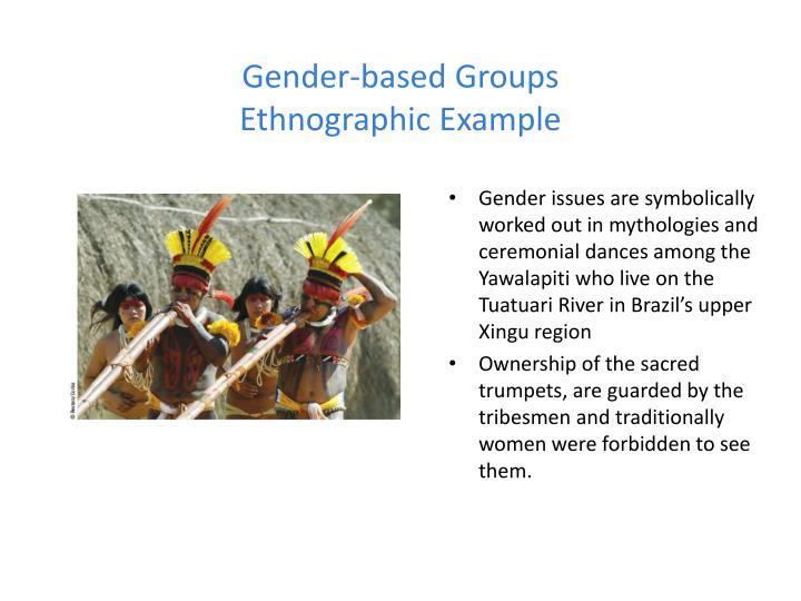 Gender-based Groups