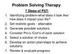 problem solving therapy1