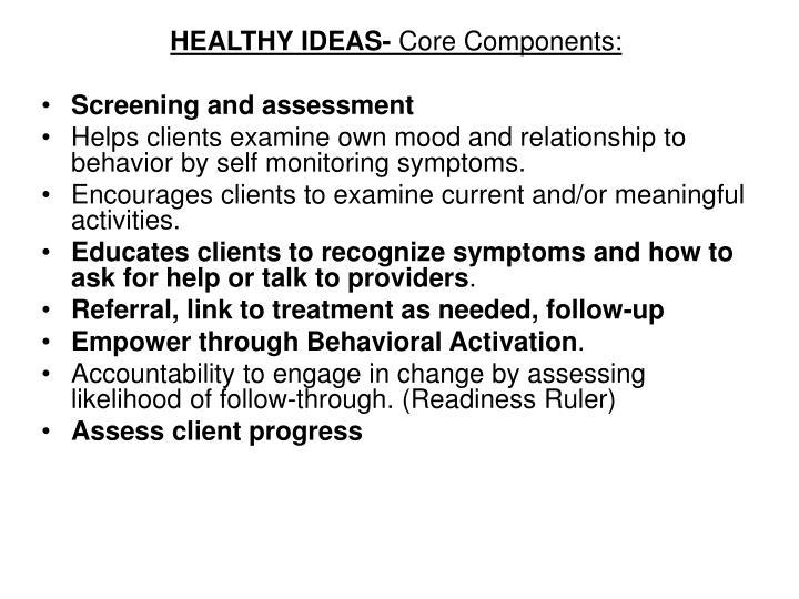HEALTHY IDEAS-