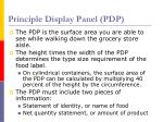 principle display panel pdp