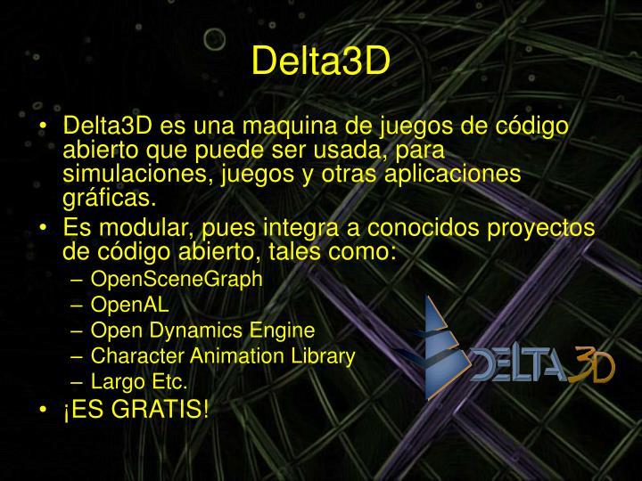 Delta3D