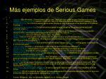 m s ejemplos de serious games