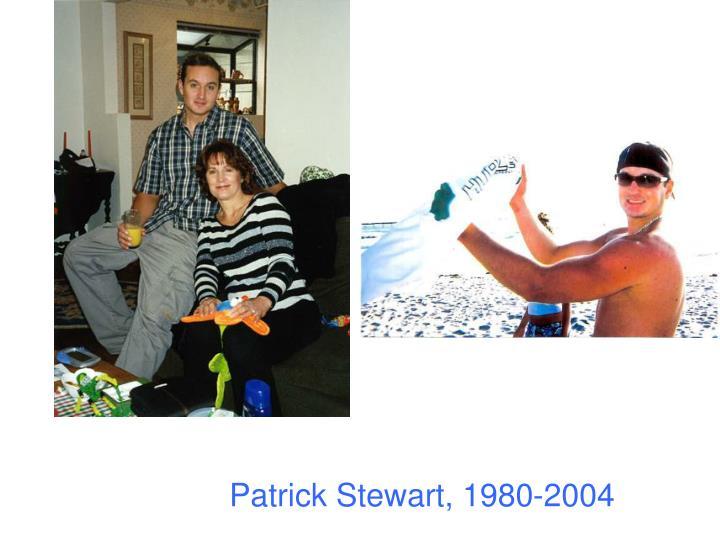 Patrick Stewart, 1980-2004