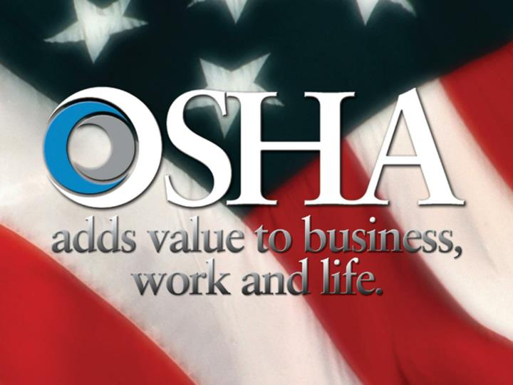 Osha update and outlook for 2008 george b flynn ms cih compliance assistance specialist