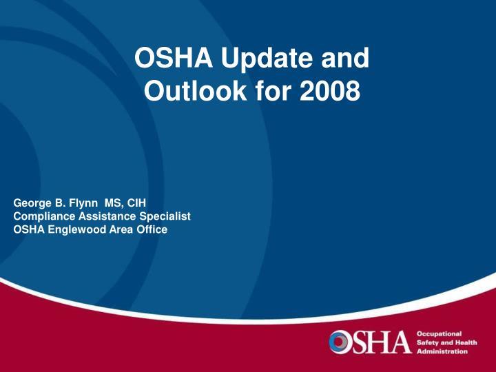 OSHA Update and