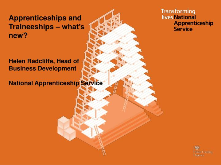 Apprenticeships and
