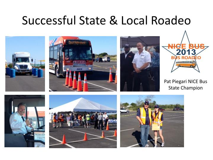 Successful State & Local Roadeo