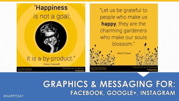 GRAPHICS & MESSAGING FOR: