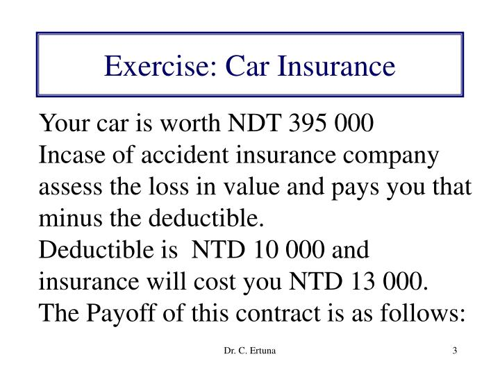 Exercise car insurance