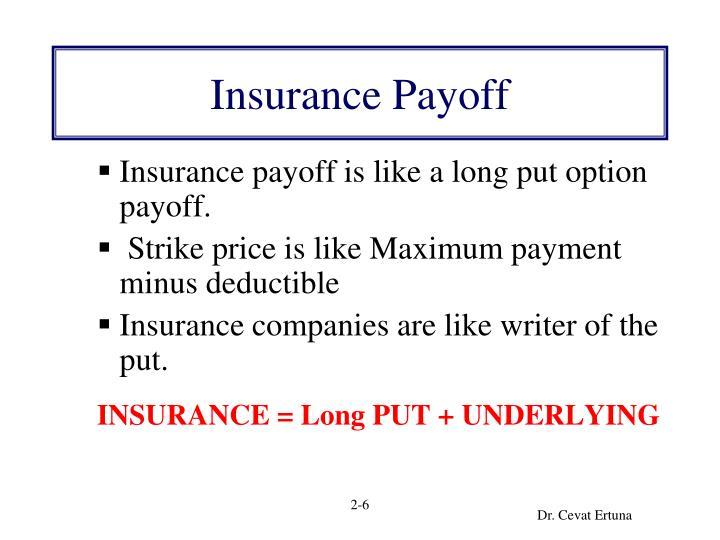 Insurance Payoff