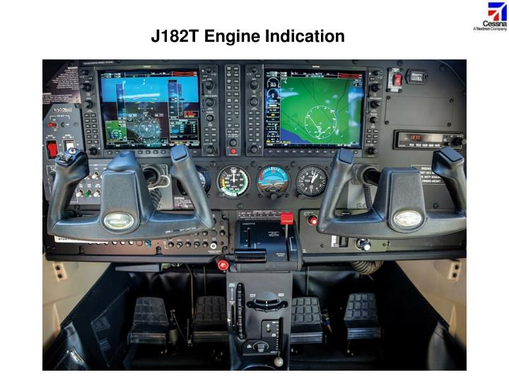 J182T Engine Indication