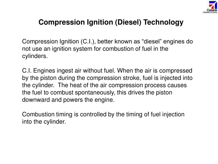 Compression Ignition (Diesel) Technology