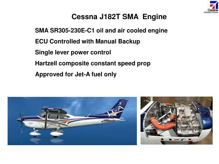 Cessna J182T SMA  Engine